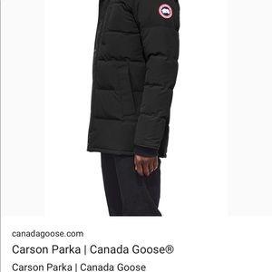 canada goose parka carson